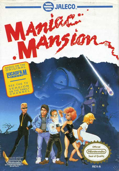 maniacmansionfan u0026 39 s complete maniac mansion reference page